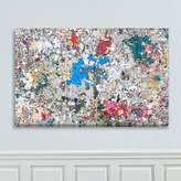 west elm Canvas Print - Abstract Expression