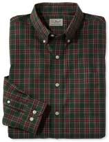 L.L. Bean Wrinkle-Free Mini-Tartan Shirt, Slim Fit