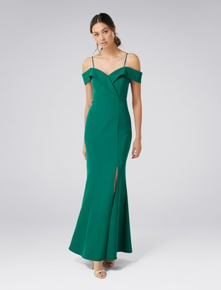 Forever New Sara Off-Shoulder Gown - Storm - 4
