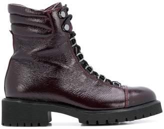 Högl lace-up combat boots