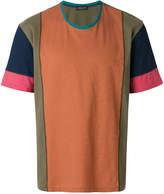 Roberto Collina patchwork T-shirt