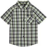 Hurley Toddler Boy Raglan Woven Plaid Shirt