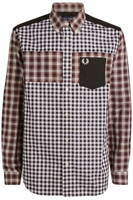 Fred Perry Contrast Check Panel Shirt