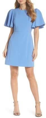 Eliza J Flutter Sleeve Sheath Dress