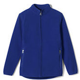 Classic Little Boys Fleece Jacket-Red