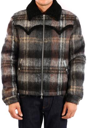 Amiri Zipped Plaid Jacket