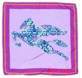 Etro Pegasus Silk Scarf