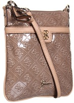 GUESS Reiko Mini Crossbody (Taupe) - Bags and Luggage