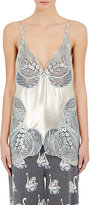 Stella McCartney WOMEN'S SATIN LACE-INSET CAMI