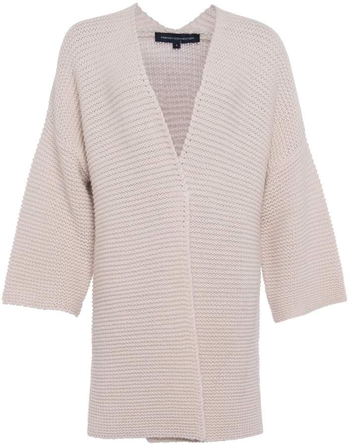 0e4cdaf7ca Cream Longline Cardigan - ShopStyle UK