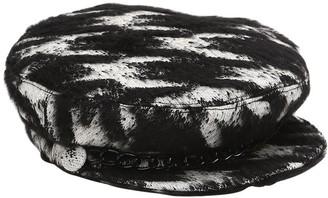 Eugenia Kim Marina Houndstooth Captain's Hat