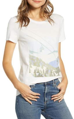 Lucky Brand Winter Scene Graphic Tee