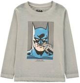 Little Eleven Paris Bat Batman Moustache T-Shirt