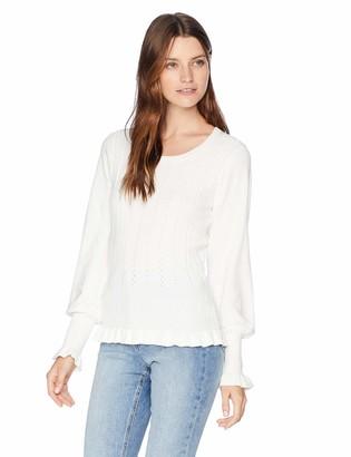Parker Women's Henri Long Sleeve Ribbed Sweater