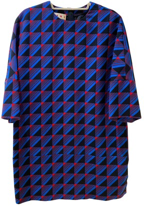 Marni Blue Wool Dresses