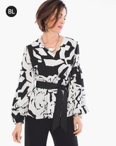 Chico's Floral Printed Blouse