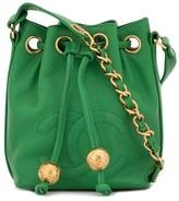 Chanel Pre Owned 1992 CC drawstring shoulder bag