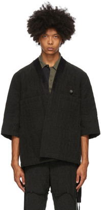 Song For The Mute Black Kimono Cardigan