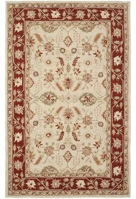 "Helena Charlton Home Hand-Hooked Wool Ivory Area Rug Charlton Home Rug Size: Rectangle 8'9"" x 11'9"""