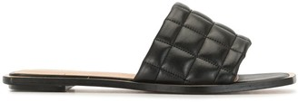Vicenza Quilted Slide Sandals