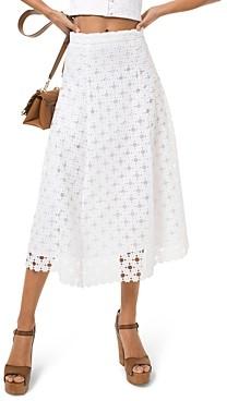 MICHAEL Michael Kors Floral Medallion Lace Skirt