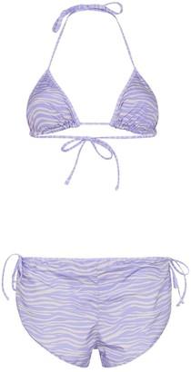 ACK Nautico tiger print bikini