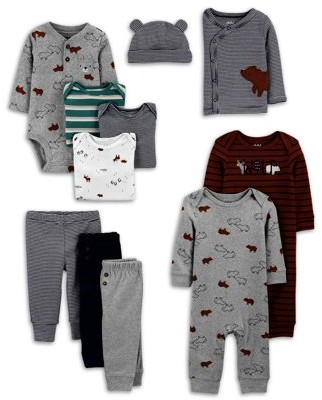 Child of Mine by Carter's Baby Boy Clothes Shower Gift Set, 11-Piece