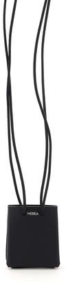 Medea MINI LONG STRAP MICRO BAG OS Black Leather