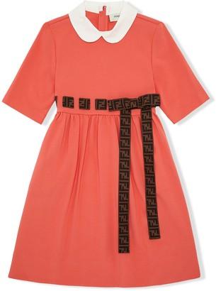 Fendi Kids FF bow dress