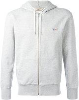 MAISON KITSUNÉ hoodie with tri-colour logo chest embellishment