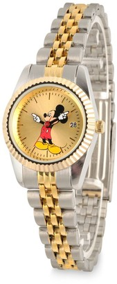 Disney Mickey Mouse Two-Tone Alloy Watch for Women