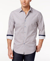 Tasso Elba Men's 100% Cotton Long-Sleeve Shirt, Only at Macy's