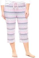 Liz Claiborne Jersey Pajama Pants-Plus