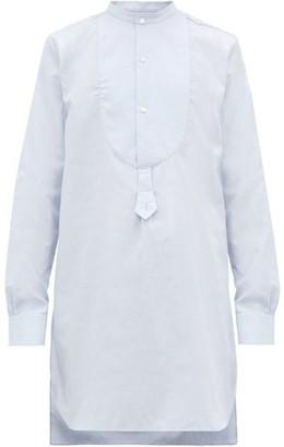 Palmer Harding Palmer//harding - Paul Cotton-pique Shirt - Blue