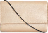 Max Mara Zoe leather clutch