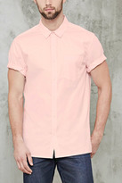 Forever 21 Slim-Fit Pocket Shirt