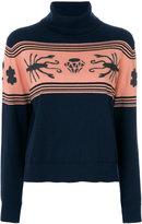 Paul Smith scorpion print sweater - women - Cotton/Merino - XS
