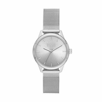 Elle Monceau Three-Hand Stainless Steel Watch