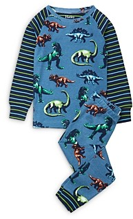Hatley Boys' Dino Print Cotton Pajamas - Little Kid, Big Kid