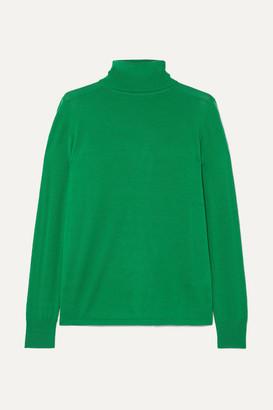 L.F. Markey Joshua Wool Turtleneck Sweater - Green