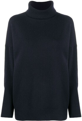 Chinti and Parker High Neck Cashmere Jumper