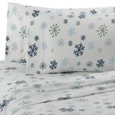 Bed Bath & Beyond Microloft Snowflake Sheet Set by Berkshire