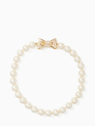 Kate Spade All Wrapped Up In Pearls Short Necklace