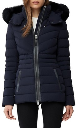 Mackage Fox Fur Down Filled Jacket