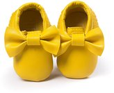 Anna-Kaci Baby Bow Soft Sole Leather Shoes Infant Toddler Moccasin 0-18 Months