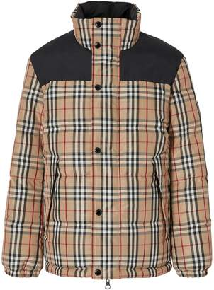 Burberry Reversible Vintage Check Jacket