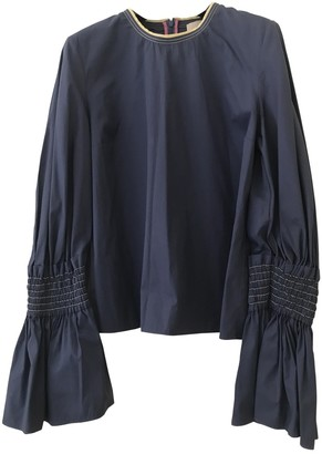 Roksanda Blue Cotton Top for Women