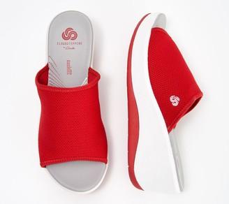 Clarks CLOUDSTEPPERS by Mesh Sport Slide Sandals - Step Cali Bay