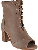 Seychelles Stun Lace Up Peep Toe Booties