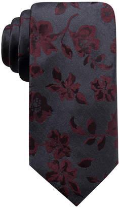 Ryan Seacrest Distinction Men Jackson Slim Floral Tie